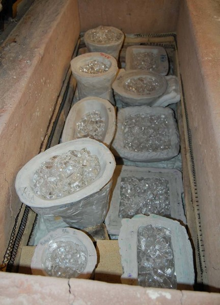 FOCI Minneapolis - molds in the kiln