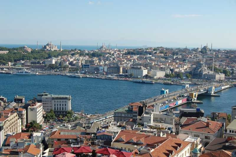 Istanbul - Golden horn and Sultanahmet