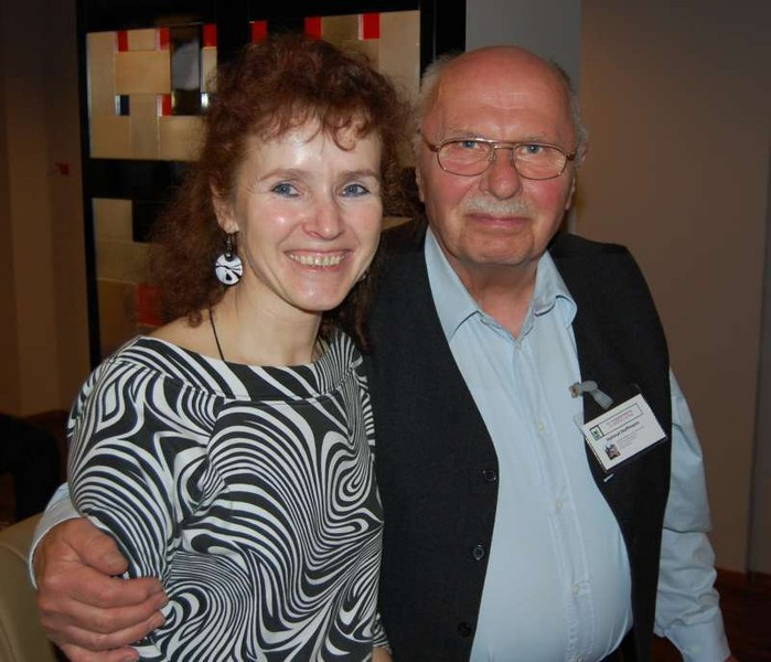 Mrs. Helena Braunová and Mr. Helmut Hoffman from Rheinbach